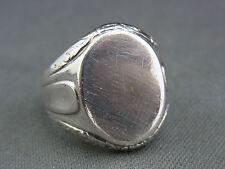 schöner alter Siegel Ring 835/-Silber ca.um 1910