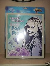 HANNAH MONTANA Wall Tin Sign Picture. POP STAR. Size 11 X 13.