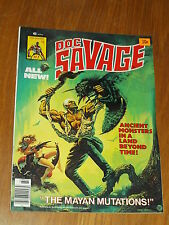 DOC SAVAGE #7 MAN OF BRONZE FN- (5.5) JANUARY 1977 CURTIS US MAGAZINE ~