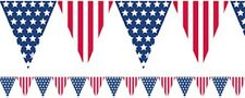 USA 4TH JULY INDEPENDENCE DAY STARS AND STRIPES PARTY BUNTING FLAG BANNER!