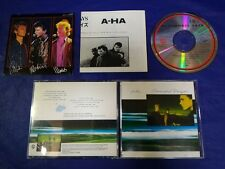 A-HA Scoundrel Days Japan 1st CD 1986 32XD-526