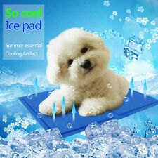 Cooling Ice Pad Puppy Cat Dog Mat Cool Summer Sleeping Bed for Small Dogs Teddy