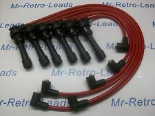 RED 8.5MM PERFORMANCE IGNITION LEADS TO FIT MITSUBISHI 3000 GT DIAMANTE QUALITY