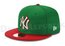 New Era 5950 NEW YORK YANKEES MLB Baseball Cap New Era Fitted Hat Kelly NY