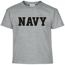 NAVY Physical Training US Military PT T Shirt  24 Color Combinations  8 Sizes