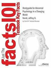 Studyguide for Abnormal Psychology in a Changing World by Nevid, Jeffrey S., ISB