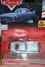 "DISNEY PIXAR CARS 2 ""FINN McMISSILE W/ BREATHER"" NEW IN PACKAGE, SHIP WORLDWIDE"