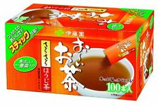 ITOEN HoJicha Japanese Roasted green tea powder stick type 0.8g x 100 sticks