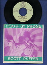 Scott Puffer Death By Phone Pure Annihilation 45 Record Pix Sleeve 1979 M- PUNK