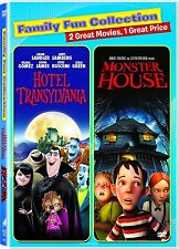 Hotel Transylvania/Monster House (DVD, 2015) NEW