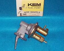"1975 1976 1977 1978 Mercury Capri 4cyl 140"" KEM Factory Rebuilt Fuel Pump 1149"