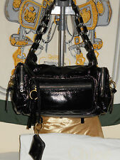 Chloe Betty Chain Bag NWT matching coin purse black patent leather