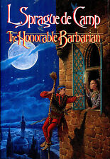 The Honorable Barbarian by L. Sprague de Camp-1989-1st Edition/DJ