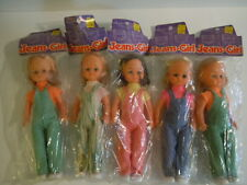 GREAT DEAL ! Vintage 1970's K-Mart Exclusive Jeans-Girl Dolls Made In Hong Kong