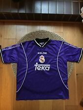 Real Madrid Shirt 1997 1998. Away Kelme Roberto Carlos L