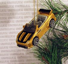 '04 MITSUBISHI ECLIPSE CONVERTIBLE 2004 GOLD BLACK CHRISTMAS ORNAMENT XMAS