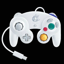 New Genuine Nintendo Wii U Super Smash Bros GC Gamecube Controller Gamepad White