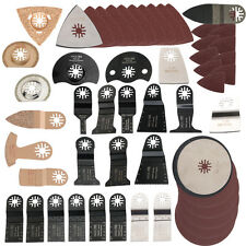 249pc: Variety Pack Oscillating MultiTool Saw Blade fits Fein Multimaster,bosch