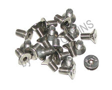 20-SS M5 X 10MM SFH SOCKET FLAT HEAD METRIC MACHINE SCREWS STAINLESS STEEL 5MM