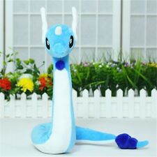 "Pokemon Go Pocket Monster Dragonair Blue Snake Doll 28"" Long Plush Toy Xmas Gift"