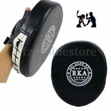 Black Boxing Mitts Sparring Training Target Punch Pad Glove MMA Karate Kick Kit