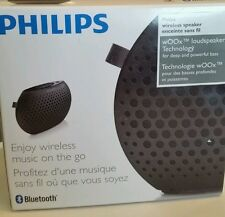 PHILIPS Speaker Portable Wireless Bluetooth - Music Anywhere Black NIB