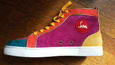 CHRISTIAN LOUBOUTIN STUNNING ANKLE SNEAKERS - SIZE 45