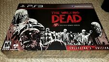 WALKING DEAD SEASON 1 COLLECTOR'S EDITION PS3 NTSC NEW SEALED FREE USA UPS SHIP)