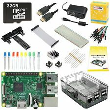 CanaKit Raspberry Pi 3 Ultimate Starter Kit - 32 GB Edition New, FREE Shipping