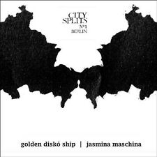 JASMINA GOLDEN DISKO SHIP/MASCHINA - CITY SPLITS 1 BERLIN  CD NEU