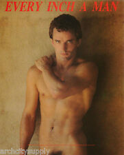 MINI POSTER : ANDRE FISET - EVERY INCH A MAN -SEXY MALE MODEL  #APR82  RP58 G-C