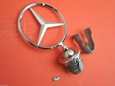 Mercedes-Benz Hood Ornament 1987-93 OEM Three Point Star Ornament Emblem