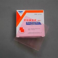 30 PCS New Dental Dentist Base Plate Wax Sheet Wax Pink Color 30PCS/BOX Hot Sale