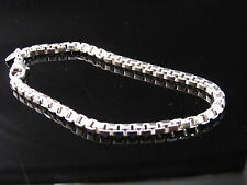 AUTHENTIC EUC TIFFANY & CO SILVER MEN BRACELET 10.75 INCH