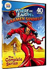 Where on Earth is Carmen Sandiego Complete Series DVD Set TV Show Collection Kid