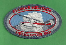 PLUMAS NATIONAL FOREST U.S. FOREST SERVICE HELITACK FIRE CREW PATCH