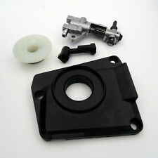 Chainsaw Oil Pump With Gear Worm And Injection Nozzle And Cover For 45/52/58CC