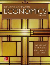 Principles of Macroeconomics by Robert H. Frank Paperback Book - 6th edition