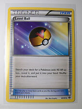 4x LEVEL BALL 89/99 Next Destinies Pokemon Trainer Cards
