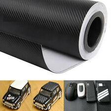 40*127cm 3D Carbon Fiber Vinyl Car Wrap Sheet Roll Film Sticker Decal