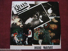 THE KRAYS Inside Warfare LP The Casualties Defiance Blitz Wretched Ones
