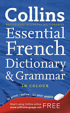 Collins Dictionary and Grammar - Collins French Essential  Very Good Book