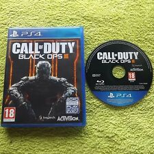 Call of duty black ops iii 3 PLAYSTATION 4 PS4 fps shooter rapide post