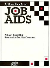 A Handbook of Job Aids