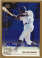 1999 Topps Traded ALFONSO SORIANO Auto RC Rookie Card T65