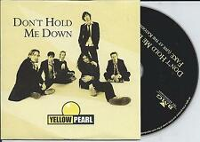 YELLOW PEARL - Don't hold me down CD SINGLE 2TR CARDSLEEVE 2004 HOLLAND