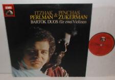 ASD 4110 Bartok Duos For Two Violins Itzhak Perlman & Pinchas Zuckerman