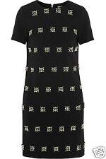 Michael Kors Luxus Kleid/Jerseykleid mit Strasssteinen Gr.36/S Neu!