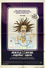 Jekyll and Hyde... Together Again 1982 Original USA One Sheet Movie Poster