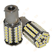 2 x White Car 1156 382 Tail Turn Signal 80 SMD LED Bulb Lamp Light BA15S P21W